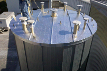Storage Tank Roof Paneling System